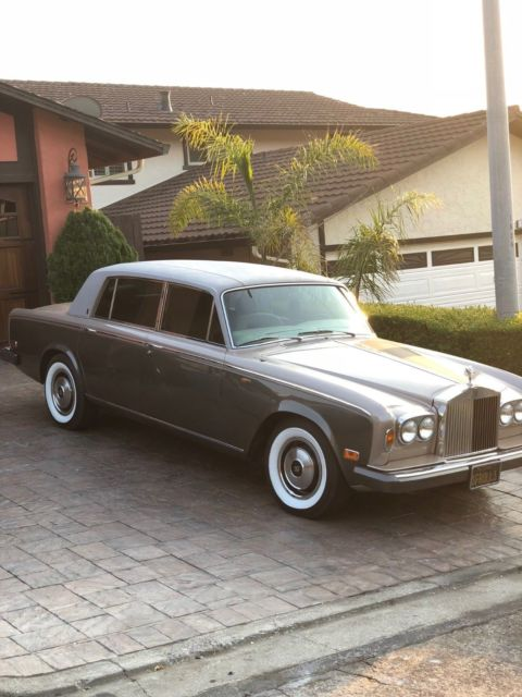 Must See  1977 Rolls-royce Silver Wraith Ii