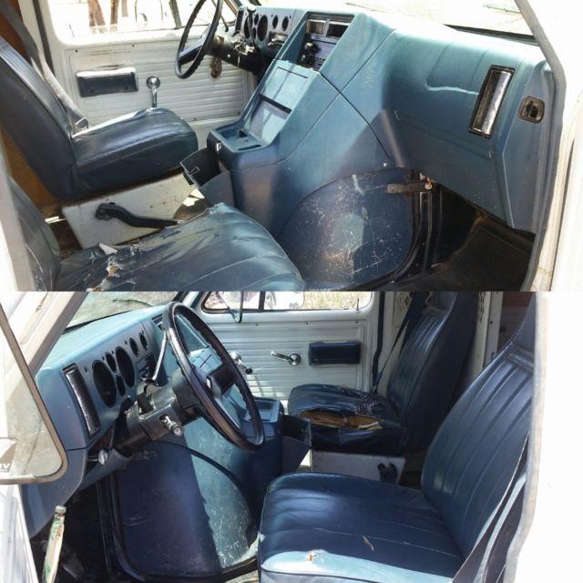 No Rust 350 5 7L Chevy G20 Cargo SportVan Runs great Custom