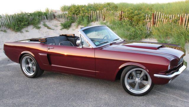 ProTouring Resto-mod Convertible 1966 1964 1965 1967 1968