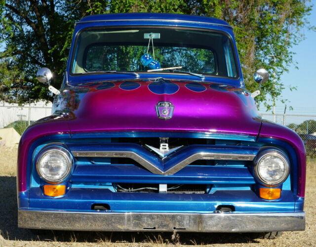 RARE 1955 Ford F100, Show truck, Custom built, 302 V8