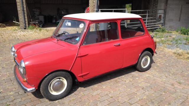 Rare 1967 Mini With 998 Cooper Engine Classic 1967 Mini Classic