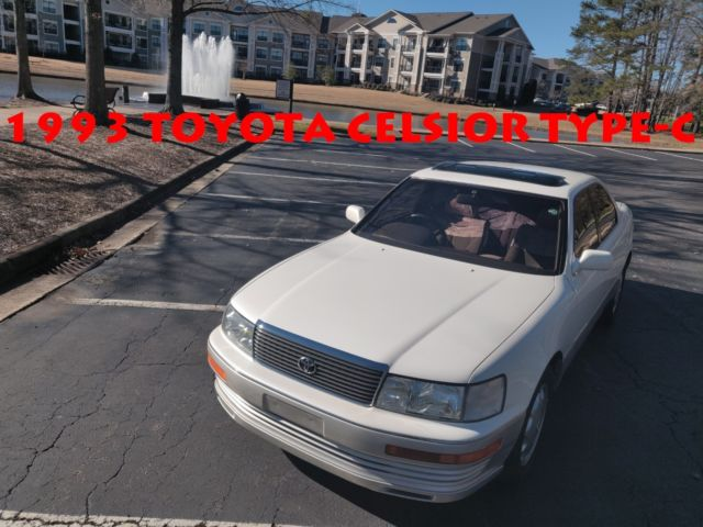 RARE! ONLY 9700 MILES* 1993 TOYOTA CELSIOR TYPE-C ONE OWNER
