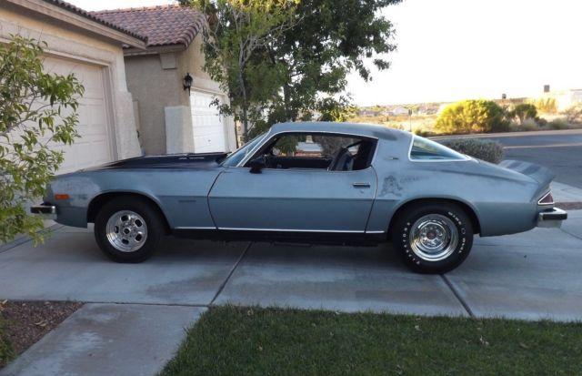 Rebuilt 1977 Chevrolet Chevy Camaro LT Hard Top Low Mileage