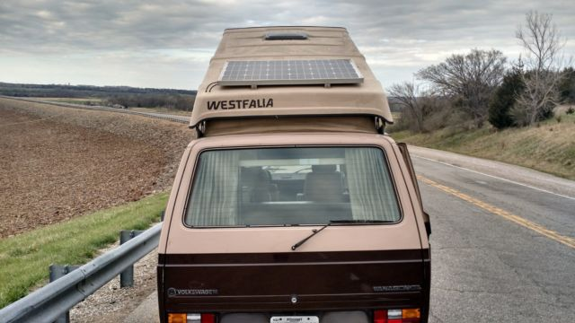 Running and driving 1984 VW wolfsburg vanagon westfalia with