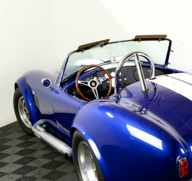 Used 1965 Superperformance Royal Blue Cobra White stripes