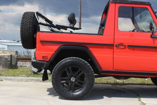 Used 1983 Mercedes-Benz G-Class CABRIOLET G WAGON Red SUV