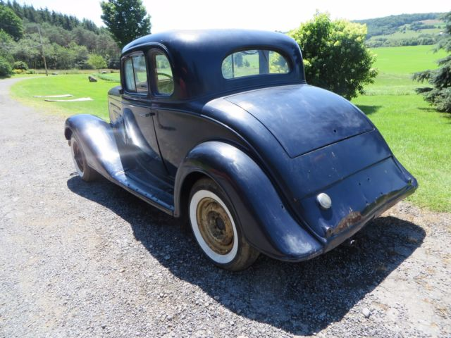 VINTAGE ORIGINAL 1934 CHEVROLET MASTER 5 WINDOW COUPE - Classic 1934
